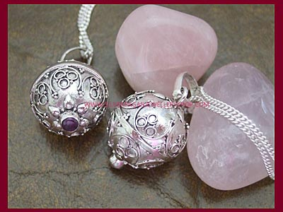 Angel caller pendant with amethyst or rainbow moonstone gemstone angel caller pendant with amethyst or rainbow moonstone gemstone larger image mozeypictures Choice Image
