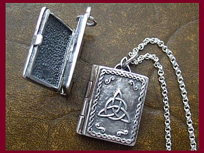 Charmed Book of Shadows Locket Pendant