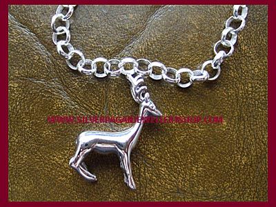 Ready Made Stag Charm Bracelet