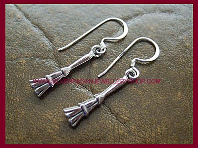 Besom Broom Earrings