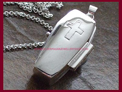 Coffin Locket Pendant