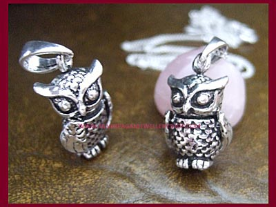 Sacred Owl Necklace