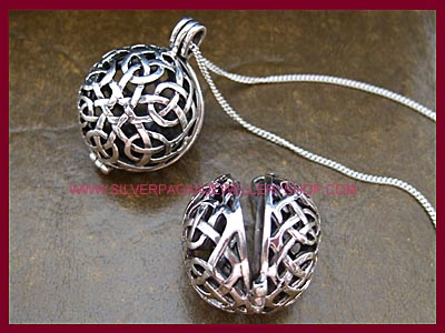 Celtic Locket Necklace