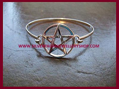 Pentagram Bangle