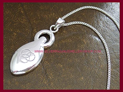 Power of Three Goddess Pendant
