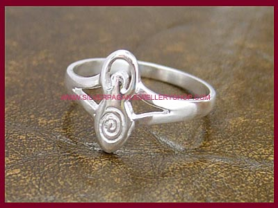 Goddess Ring - Spiral of Life