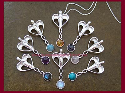 Healing Angel Pendants