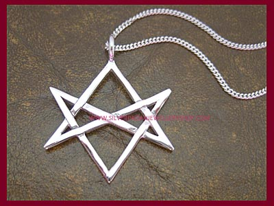 Hexagram Pendant Necklace