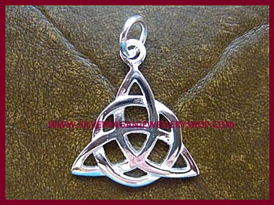 Celtic Triple Goddess Triquetra Pendant