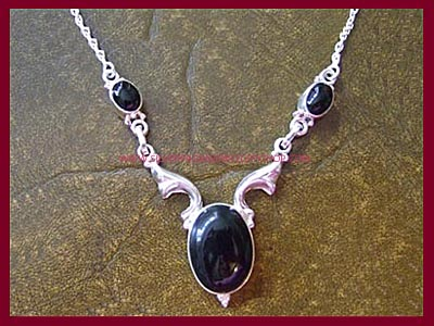 Black Magic Necklace - Black Onyx