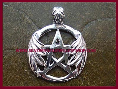 Oak Leaf Pentagram Pendant 2