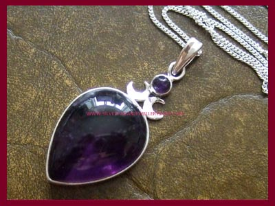 Goddess Pendant - Amethyst - *MORE STOCK SOON*