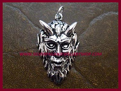 Pan's Head Pendant
