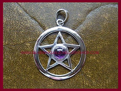Amethyst Pentagram Pendant **MORE STOCK SOON**