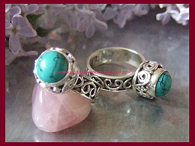 Moon Dreamer Ring - Turquoise