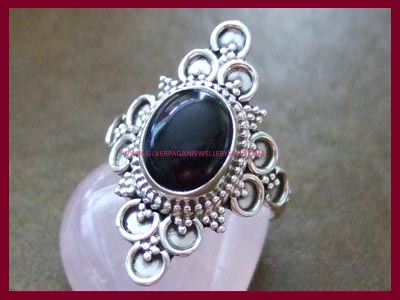 Black Onyx Ring - Black Magic