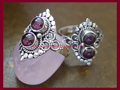 Garnet Spellweaver Ring *MORE SOON*