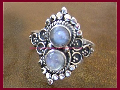 Rainbow Moonstone Spellweaver Ring *MORE SOON*