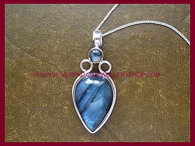 Labradorite Goddess Pendant *QUICK - ONLY 1 LEFT!*