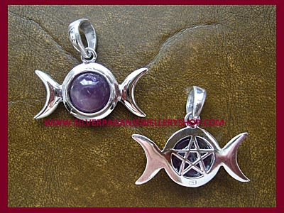 Triple Moon Pendant