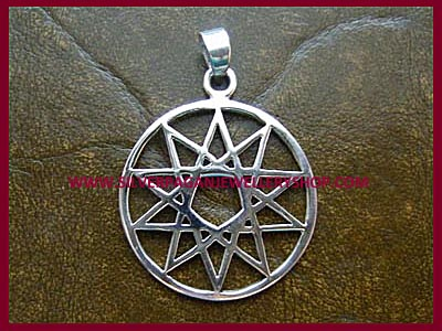 Ten Point Star Pendant (Decagram)