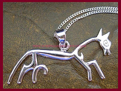 Uffington Horse Necklace
