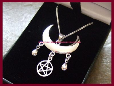 Wiccan Moon Blessings Necklace 1