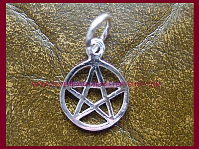 Pentagram Charm - Click Image to Close
