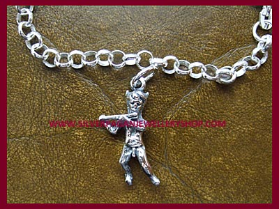 Ready Made Pan Charm Bracelet