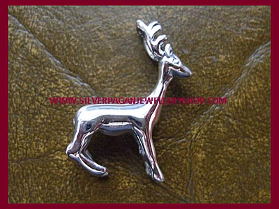 Stag Pendant (3D)