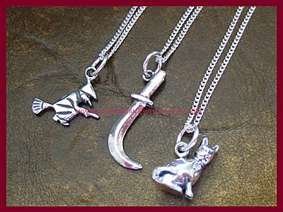 Witchy Charm Necklaces 5