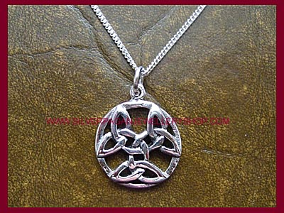 Celtic Triquetra Pendant Necklace