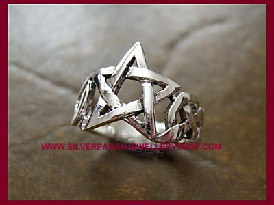 Pentagram Ring 3 **MORE STOCK SOON**