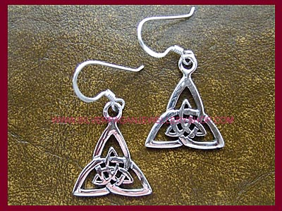 Celtic Triquetra Earrings