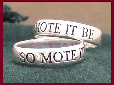 So Mote It Be Ring