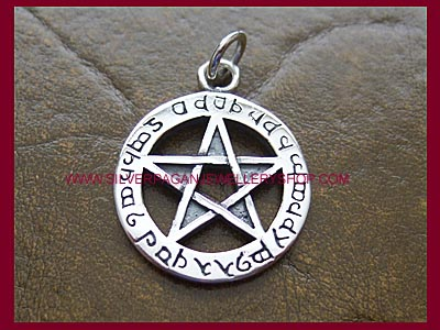 Elfin Protection Pentagram Pendant