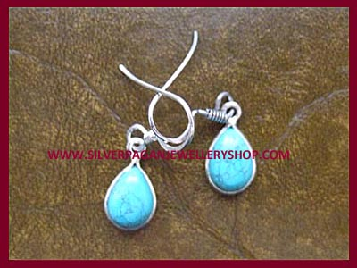 Teardrop Gemstone Earrings - Choose Your Gemstone
