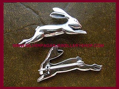 Hare Brooch *MORE STOCK SOON*