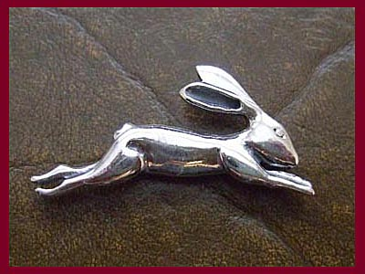 Leaping Hare Pendant *MORE STOCK SOON*