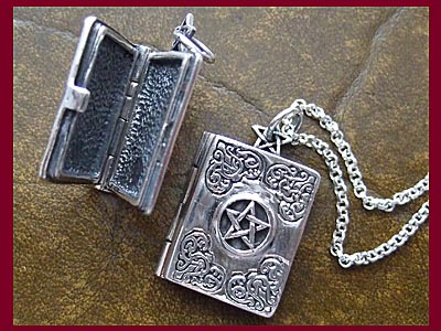 Master Grimoire Locket Pendant