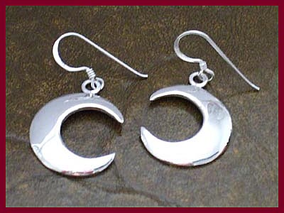 Crescent Moon Earrings