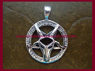 Baphomet Pentagram Pendant **MORE STOCK SOON**