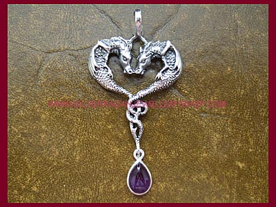 Amethyst Draco Dragon Pendant **MORE SOON**