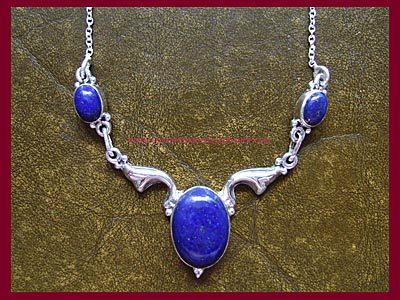 Black Magic Necklace - Lapis - **LIMITED EDITION**