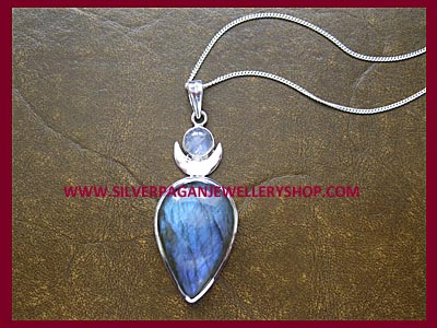 Labradorite High Priestess Pendant ** QUICK, ONLY 2 LEFT! **