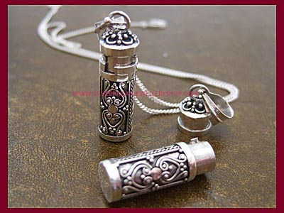 Poison Locket Necklace