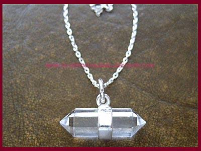 Quartz Crystal Necklace Quartz Crystal Necklaces, 925