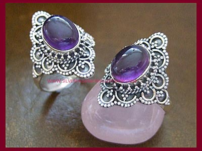Amethyst Enchantress Ring