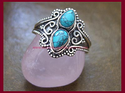 Turquoise Ocean Dream Ring