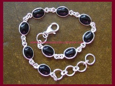 Black Onyx Bracelet - Click Image to Close